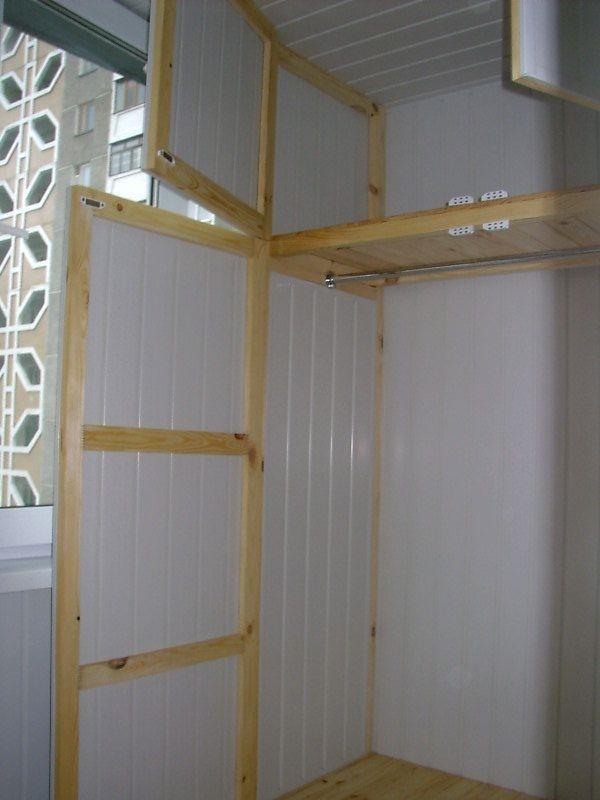 Как сделать дверь на шкаф из панелей.